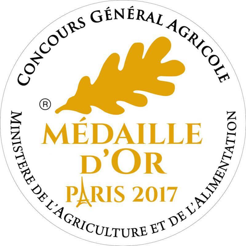 médaille d'Or CGA 2017